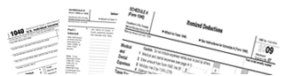 Printable tax forms, in one place